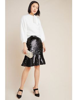 Esme Sequined Midi Skirt by Hutch