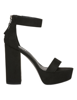 Sakari Black Sandal by Lipstik