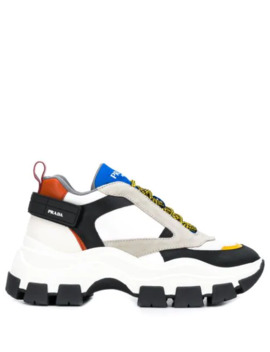 Chunky Sole Sneakers by Prada