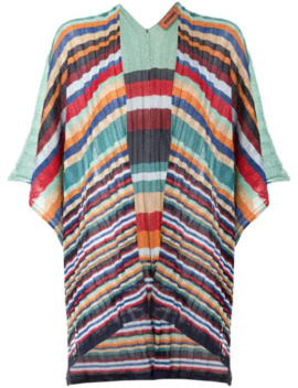 Striped Print Kimono Cardigan by Missoni