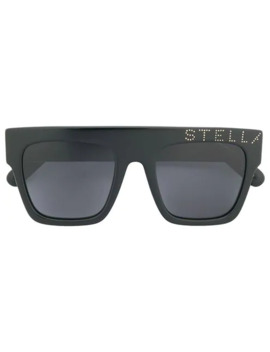 Square Tinted Sunglasses by Stella Mc Cartney Eyewear