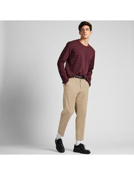 Herren Ezy Stoffhose In 7/8 LÄnge (Regular Fit) by Uniqlo