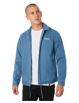 Yucatan Denim Mens Coaches Jacket by Huf