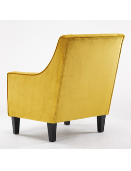 Velmont Mustard Chair   Mustard by The Range