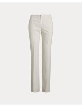 Pinstripe Straight Leg Pant by Ralph Lauren