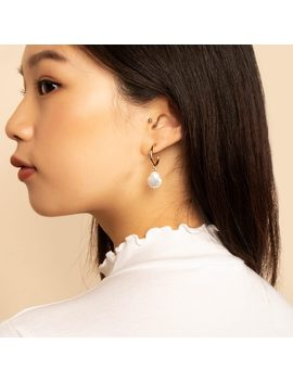 Small Pearl Hoop Earrings     Nuria              Regular Price        $59 by Ana Luisa