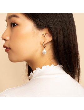 Small Pearl Hoop Earrings    Nuria              Regular Price        $59 by Ana Luisa