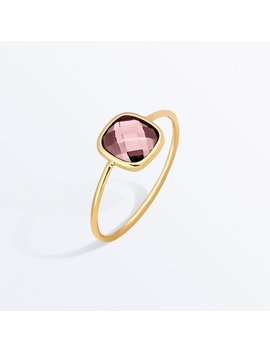 Stone Ring     Palace Rosé Pink              Regular Price        €‌82 by Ana Luisa