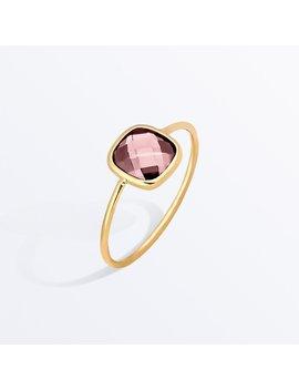 Stone Ring    Palace Rosé Pink              Regular Price        €82 by Ana Luisa