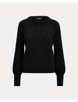 Cashmere Blend Sweater by Ralph Lauren