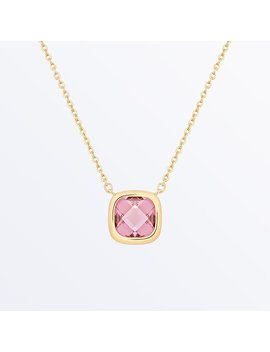 Stone Necklace     Palace Rosé Pink              Regular Price        $75 by Ana Luisa