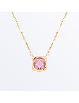 Stone Necklace    Palace Rosé Pink              Regular Price        $75 by Ana Luisa