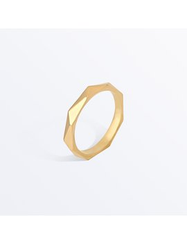 Faceted Ring     Rosa              Regular Price        $49 by Ana Luisa