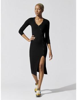 Etty Asymmetrical Henley Dress by Nsf
