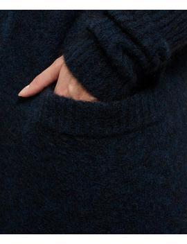 Raya Long Mohair Blend Cardigan by Acne Studios