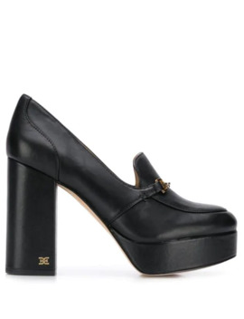 Block Heel Platform Loafers by Sam Edelman