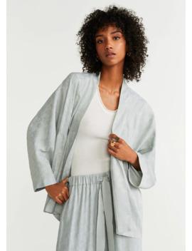 Kimono Jacquard by Mango