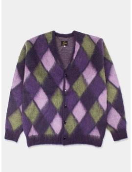 Needles Mohair Cardigan   Mosaic Purple by Garmentory