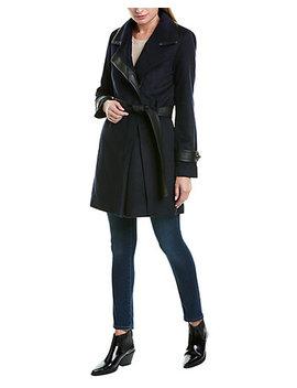 Badgley Mischka Millie Wool Blend Coat by Badgley Mischka