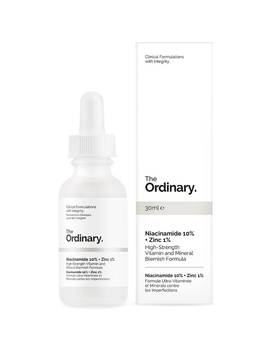 The Ordinary Niacinamide 10% + Zinc 1% High Strength Vitamin And Mineral Blemish Formula 30ml by The Ordinary