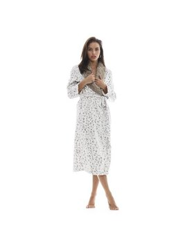 Cozy & Curious Women's The Jungle Fever Robe by Walmart