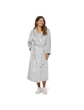 George Women's Embossed Plush Robe by Walmart