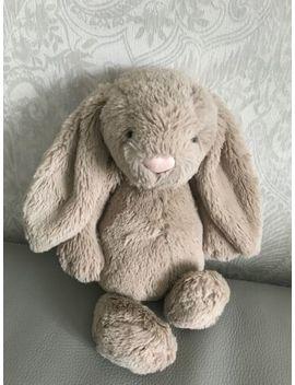 Jellycat Bashful Bunny Medium Bunny Lapin Rabbit Soft Toy White55 Mink Brown by Ebay Seller