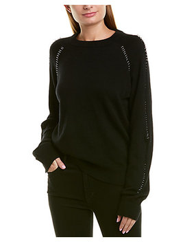 The Kooples Pierced Wool & Cashmere Blend Sweater by The Kooples