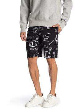 Reverse Weave Cutoff Logo Shorts by Champion
