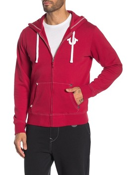 Zip Front Hoodie by True Religion