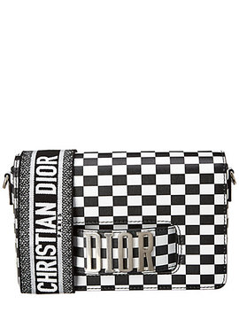 Dior J'adior Mini Checkered Leather Crossbody by Dior