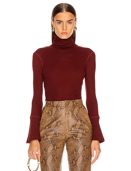 Stark Thermal Flare Sleeve Turtleneck by The Range