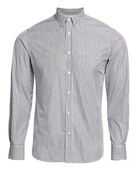 Lipp Candy Striped Cotton Shirt by Officine Generale