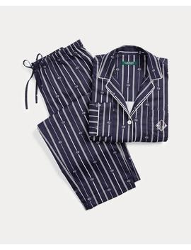 Striped Sateen Sleep Set by Ralph Lauren