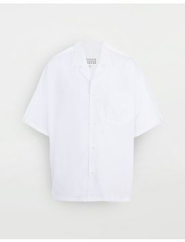 Outline Oversized Shirt by Maison Margiela