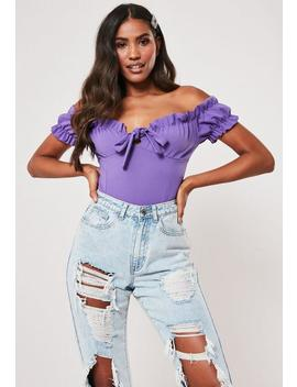 Body Violet Effet Corsage by Missguided