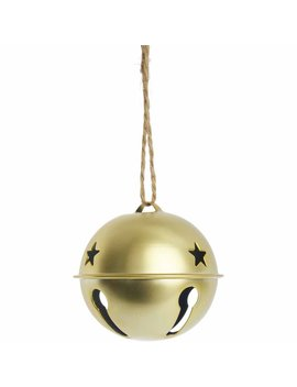 Wilko Gold Metal Bell Bauble Christmas Tree Decoration Wilko Gold Metal Bell Bauble Christmas Tree Decoration by Wilko