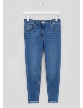 Papaya Petite April Step Hem Super Skinny Jeans by Matalan
