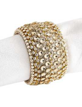 Gold Bling Napkin Ring by Pier1 Imports