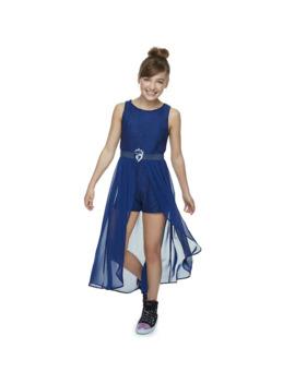 Disney's D Signed Descendants Girls 7 16 Evie Lace Romper by Disney