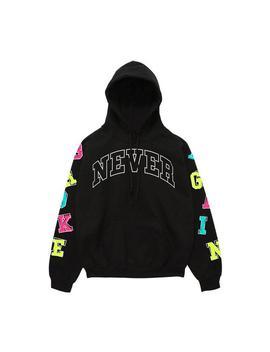 Never Broke Again Men's Alphabet Sleeves Pullover Hoodie Never Broke Again Men's Alphabet Sleeves Pullover Hoodie by Hibbett