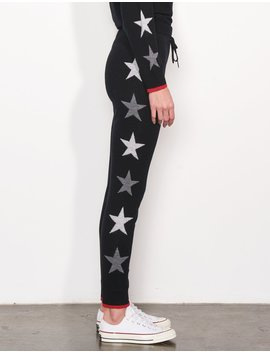 Side Stars Cozy Sweatpants by Sundry Clothing