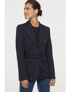 Kabátik ZVlnenej Zmesi by H&M