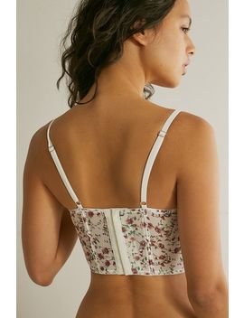 Out From Under   Haut Corset En Voile Sheena Avec Imprimé by Out From Under