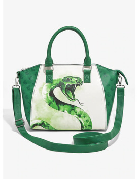 Loungefly Harry Potter Slytherin Satchel Bag by Hot Topic