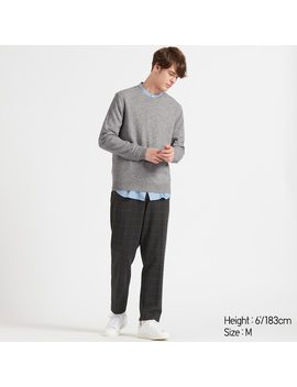 Pull En Cachemire À Col Rond Homme by Uniqlo
