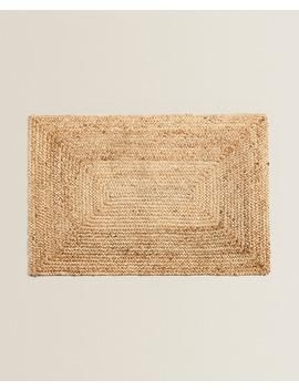 Rectangular Jute Doormat  Rugs   Bedroom by Zara Home