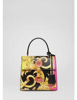 Icon Handtasche Im Barocco Femme Print by Versace