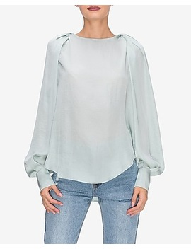 English Factory Balloon Sleeve Top by Express