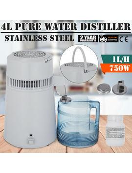 4 L Wasser Destilliergerät Wasserfilter Metallgehäuse Tragbar Water Distiller by Ebay Seller